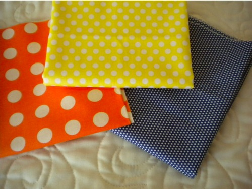 polka dot quilt fabric