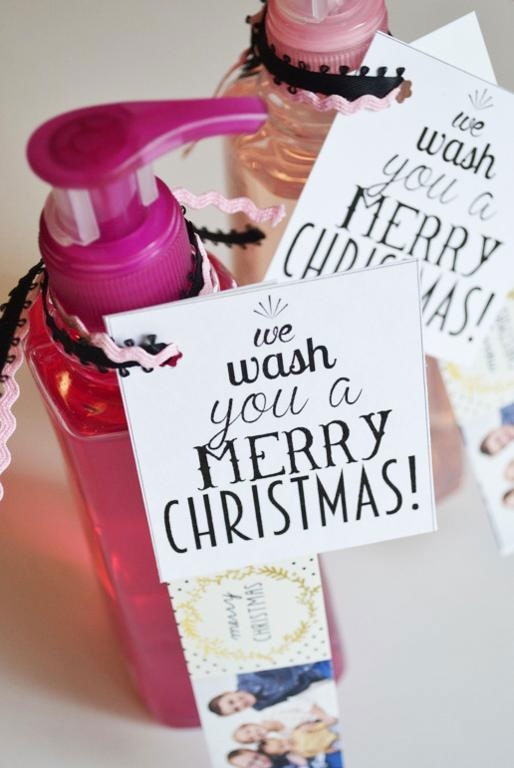 Punny Bath & Body Gift Tags