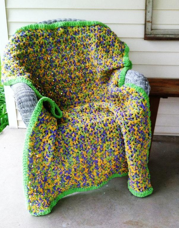 quick crochet blanket pattern