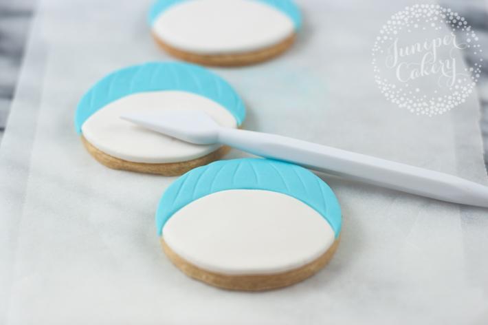 Snowman sugar cookie tutorial