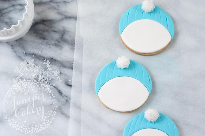 Cute snowman cookie tutorial