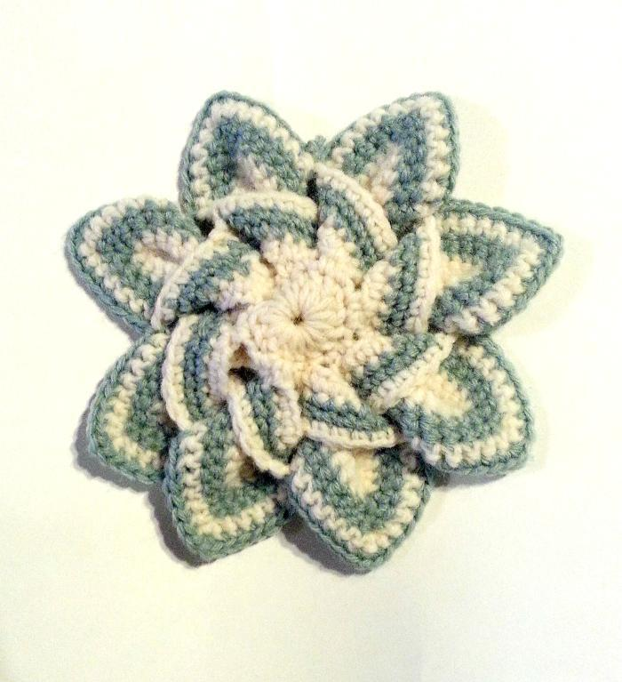 star trivet crochet potholder