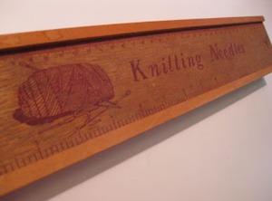 vintage knitting tool