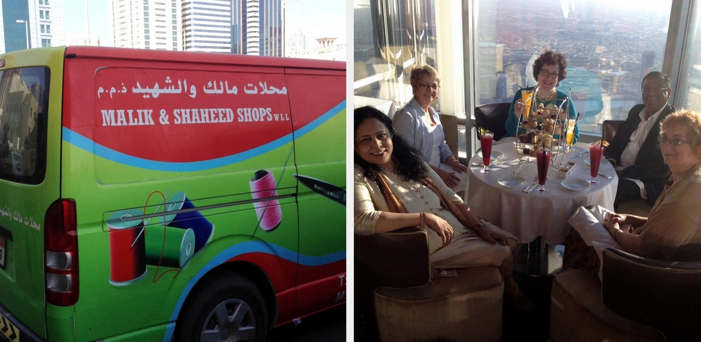 Scenes from Anita's Trip to Dubai