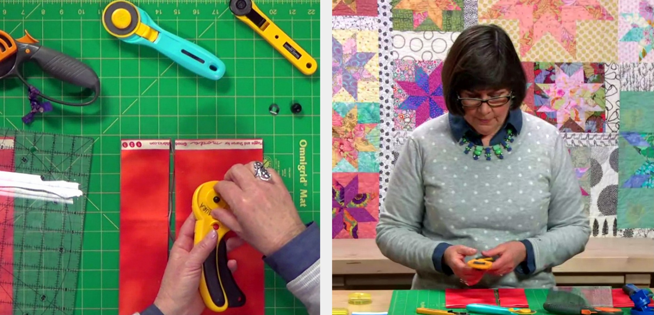 Laura Nownes Troubleshooting a Rotary Cutter