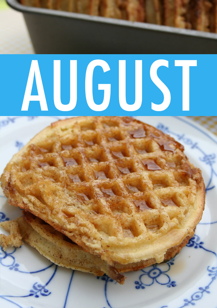 Food Holidays August