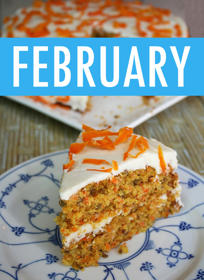 Food Holidays February