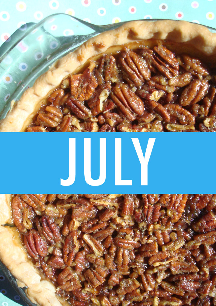 Food Holidays July