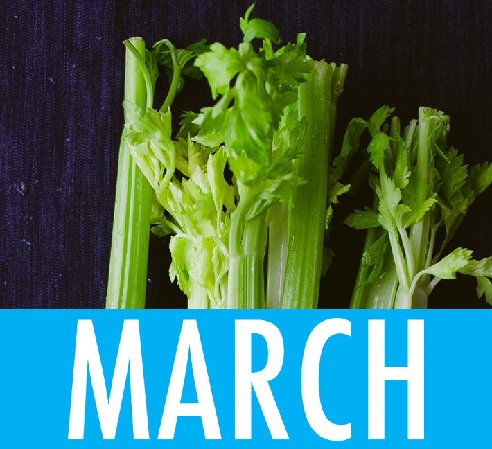 Food Holidays March