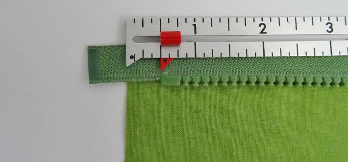 3b Install zipper