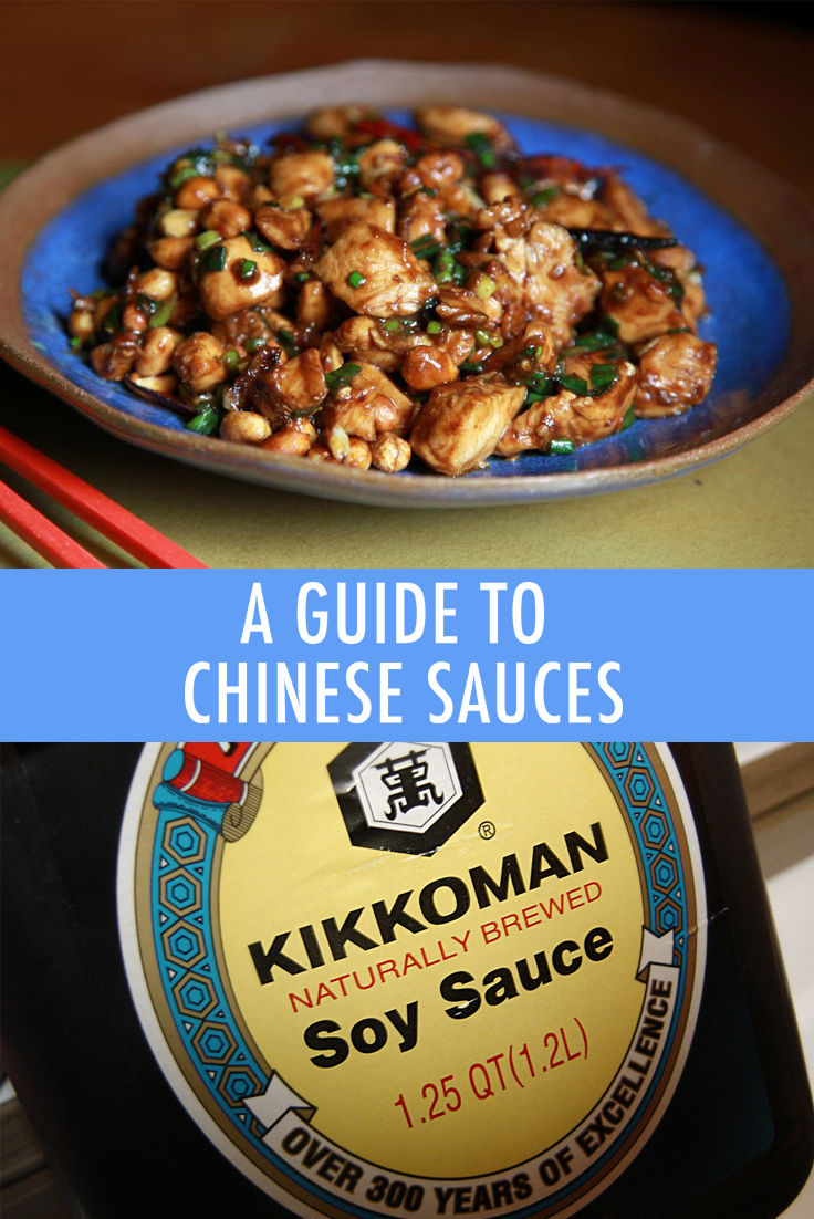 Chinese food sauces
