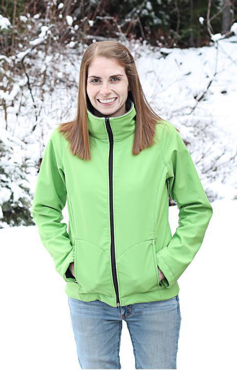 Cascade fleece jacket with zip front