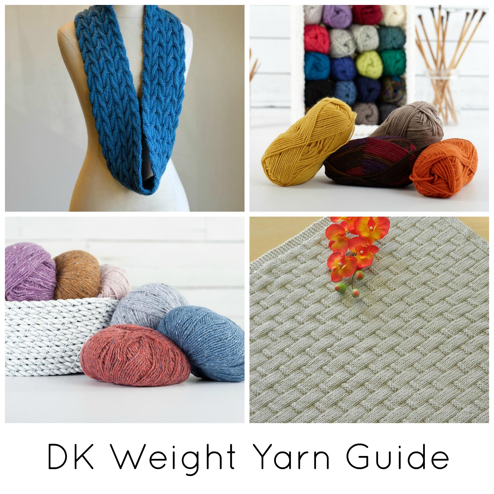 DK Weight Yarn Guide