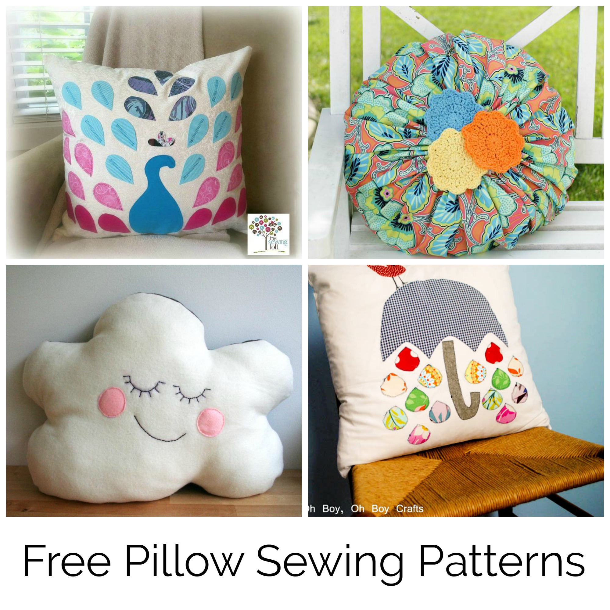 Free Pillow Sewing Patterns