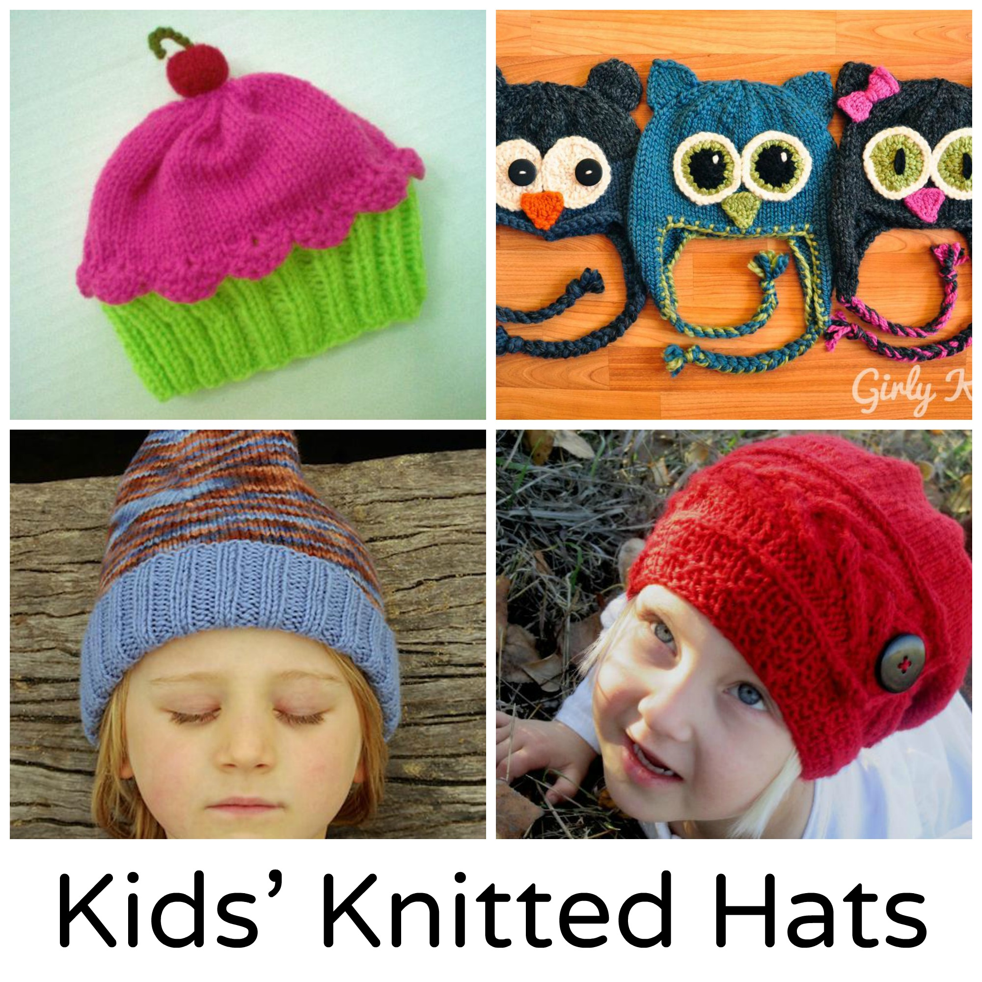 Kids' Knitted Hats