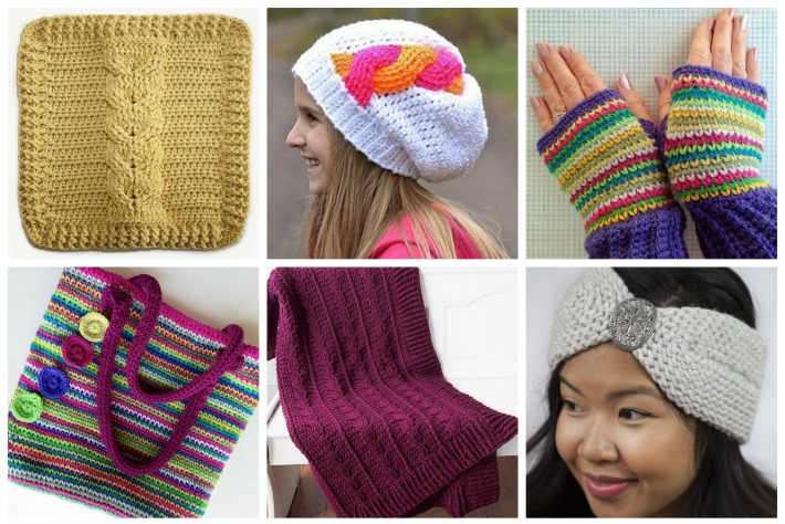 Knit or Crochet Collage