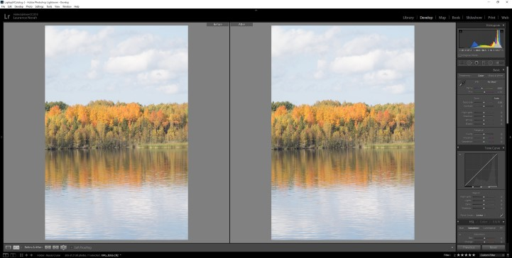 Lightroom filters - initial load