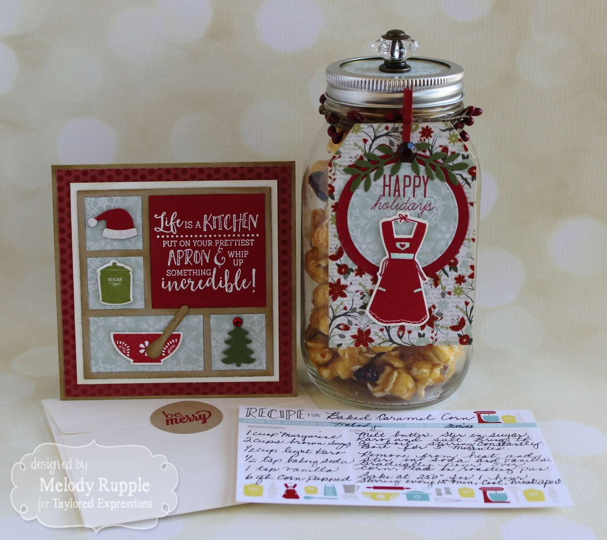 Mason Jar Holiday Treat Gift Set