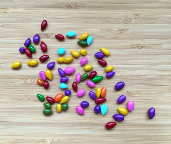 Candy Coated Sunflower Seeds