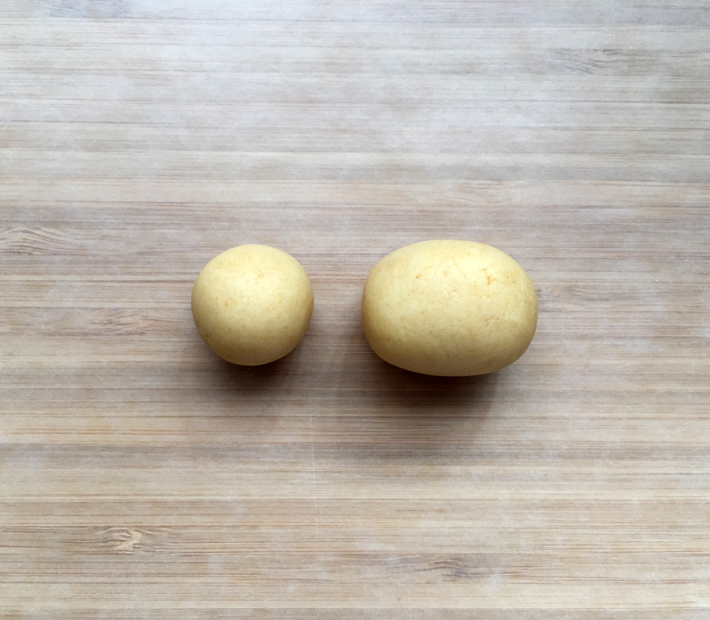 Form ball and oval