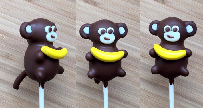 How to Make Monkey Cake Pops