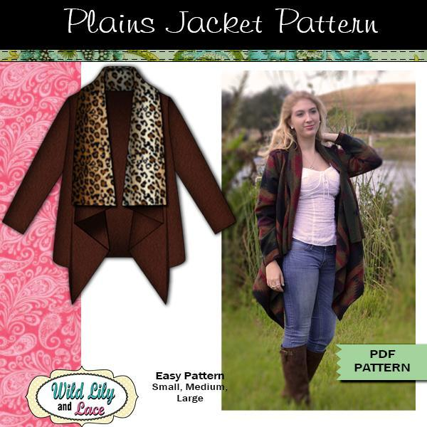 Plains layering jacket for women