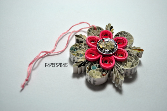 Quilled Ornament by Paper Spirals