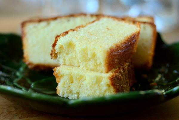 Homemade Eggnog Pound Cake