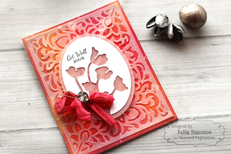 Die Cut Vellum Card