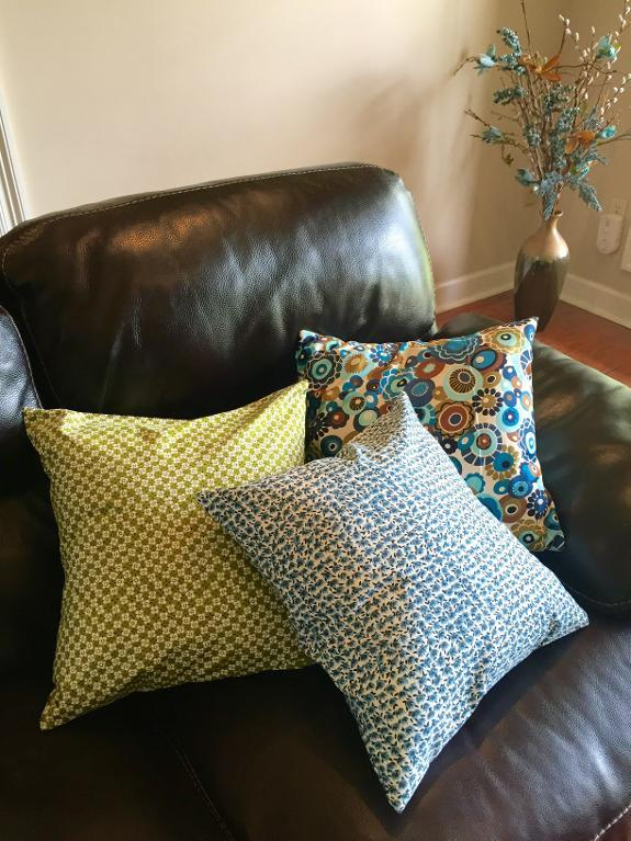 Fabric Pillow Cover Sewing Pattern