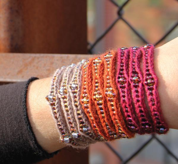 Knit Mudra Cuff Bracelet