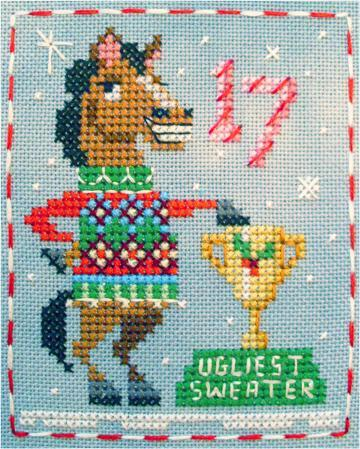 FREE Christmas Horse Embroidery Designs