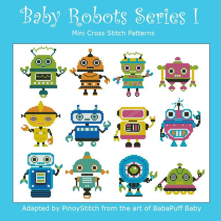 Baby Robots Series 1
