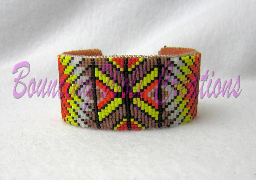 How to Finish a Beaded Cuff Bracelet