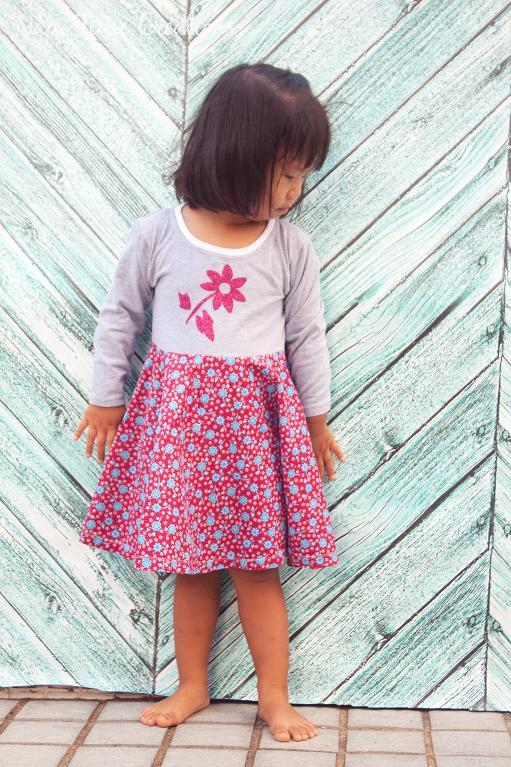T-Shirt Dress Pattern Sizes 2 - 12