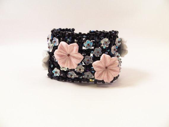 Moonflower Cuff Bracelet