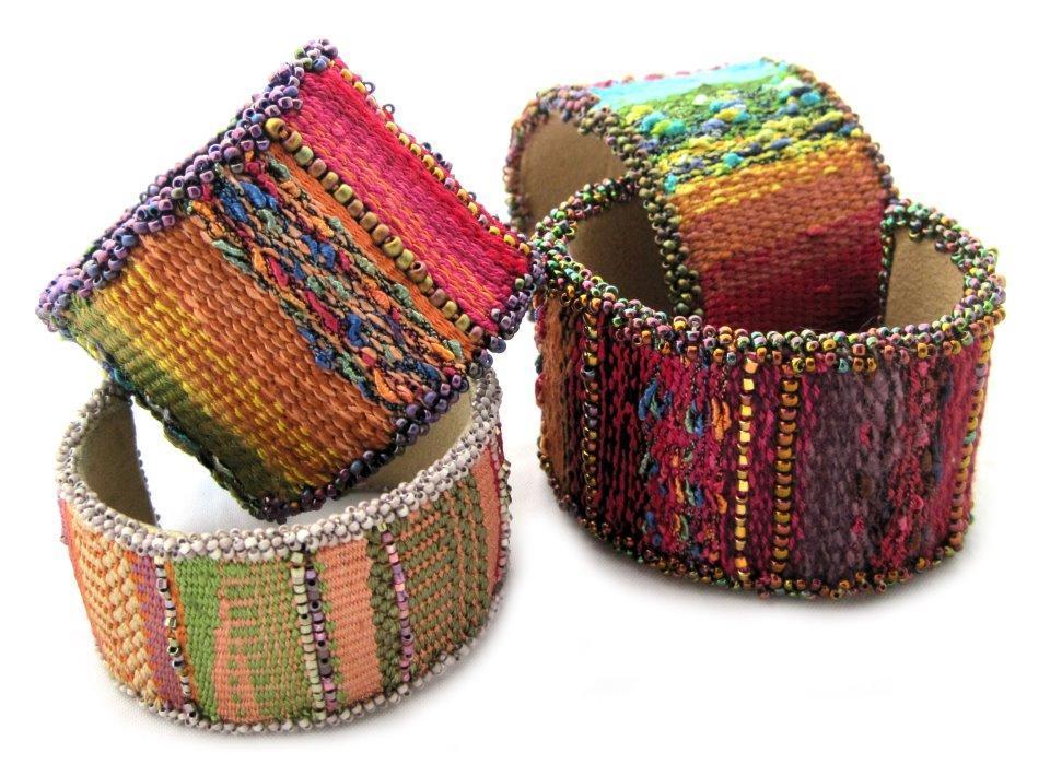 Mirrix Tapestry Bead Cuff Bracelet