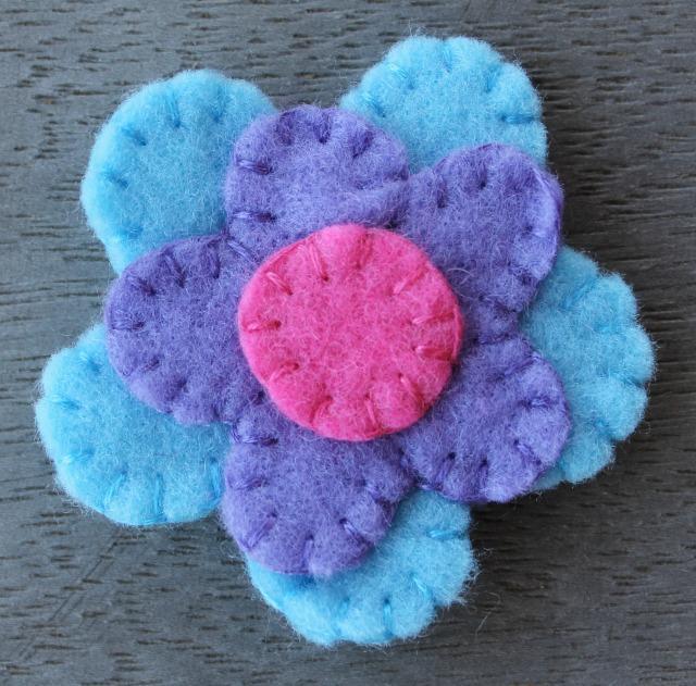 Felt Flower FREE Sewing Tutorial