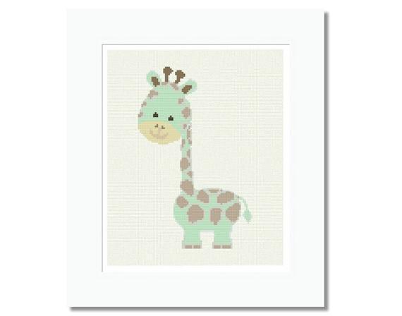 Baby Giraffe Cross Stitch