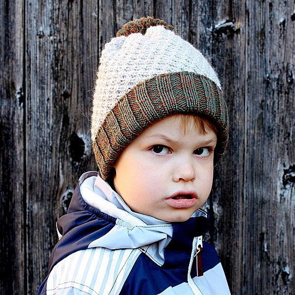 Basket Diagonal Hat FREE Knitting Pattern