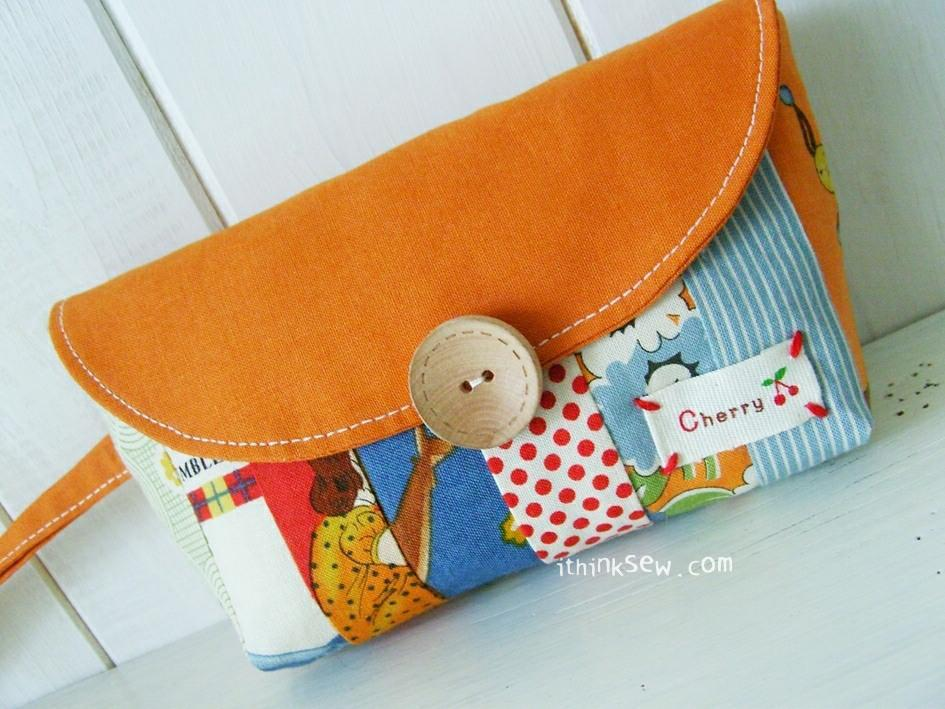 Caroline Clutch FREE Sewing Pattern