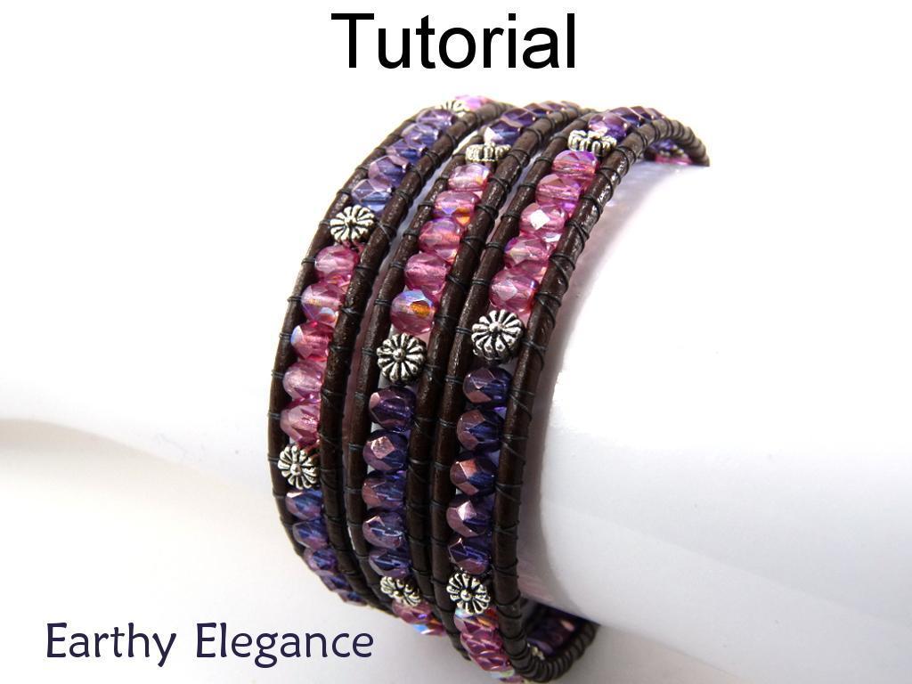 Earthy Elegance Wrap Bracelet
