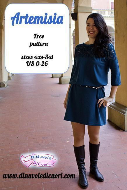 Artemisia FREE Dress Sewing Pattern