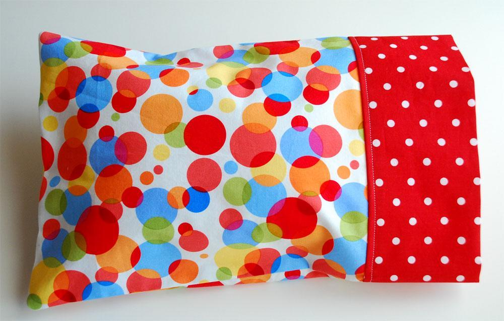 Toddler Pillow and Pillowcase FREE Sewing Pattern