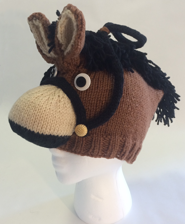ROFL Horse Hat Knitting Pattern