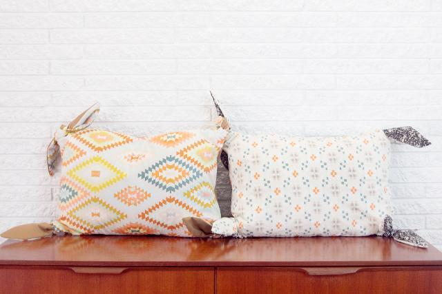 Knotted Pillow Cover FREE Sewing Tutorial