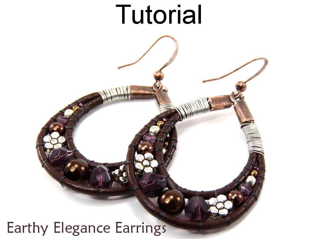 Earthy Elegance Earrings Tutorial
