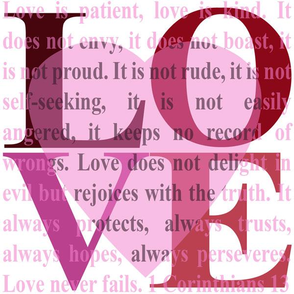Free Digital Love Printable