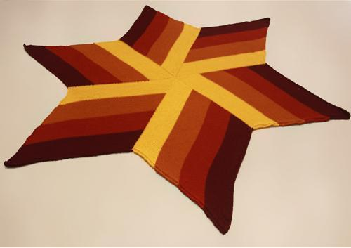 megastar tunisian crochet blanket