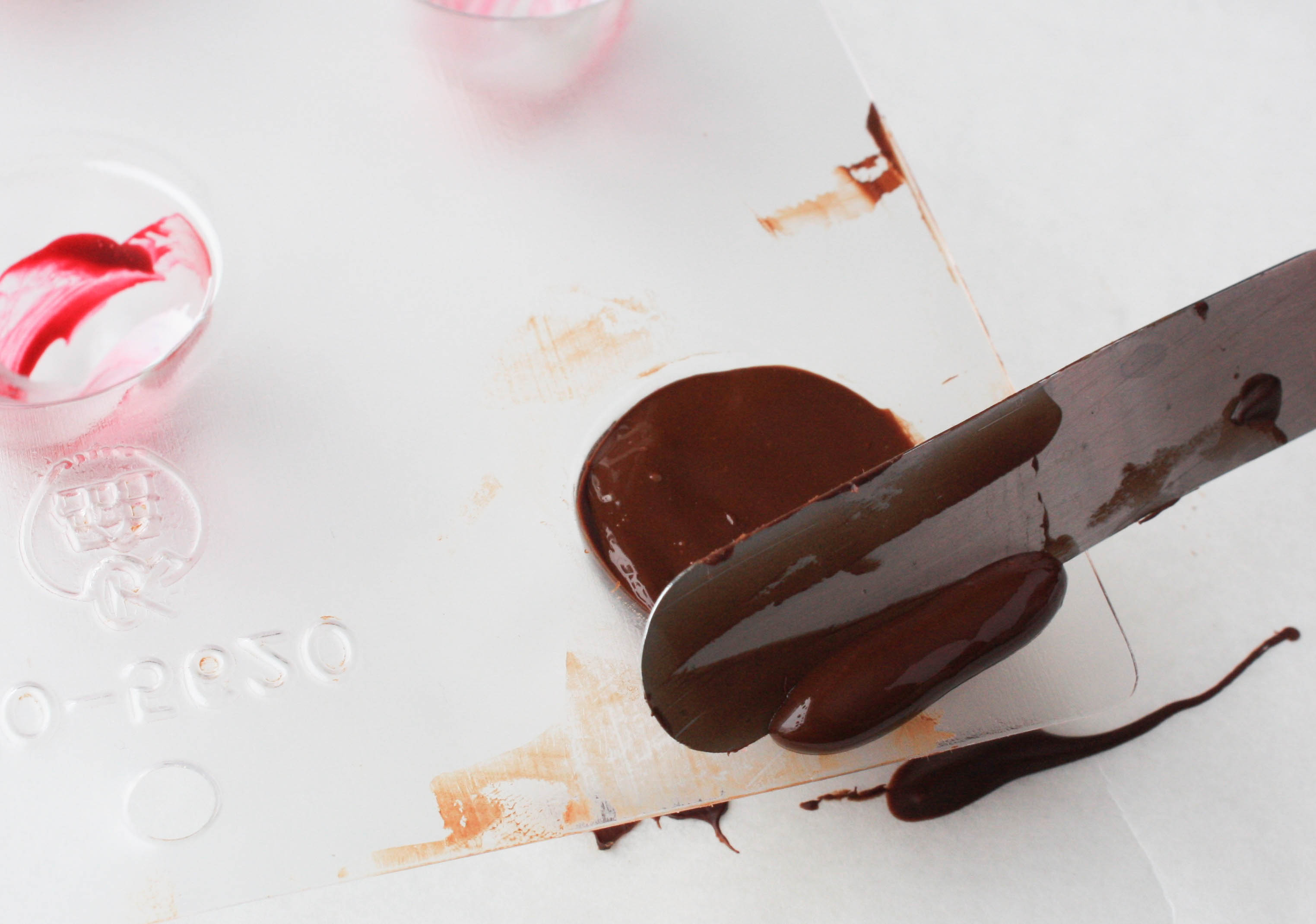 Filling in the Chocolate Mold | Erin Gardner